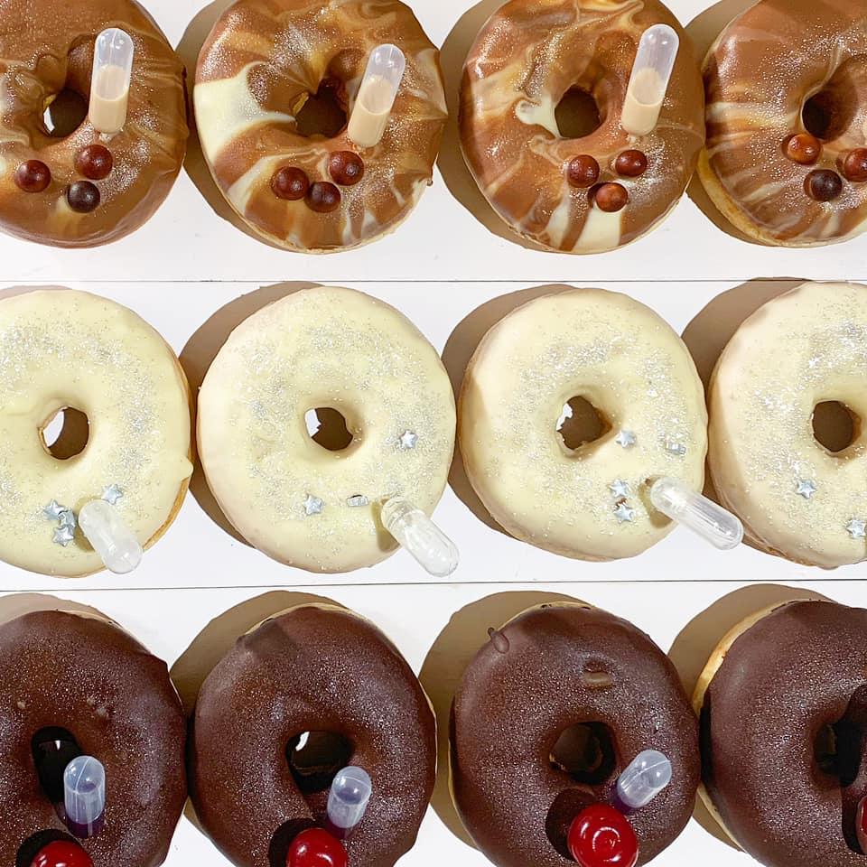 Boozy donuts image