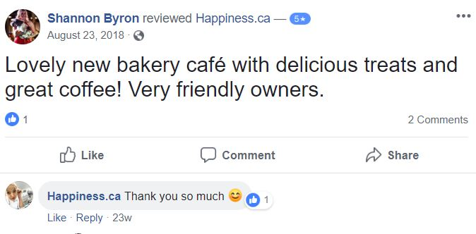 Customer comment image